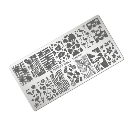 Stamping Plate Summer - Perfect Nails