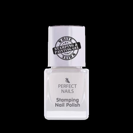 Stämpellack vit - Perfect Nails