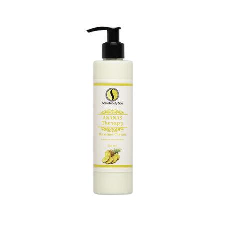 Massage cream 250ml - Ananas