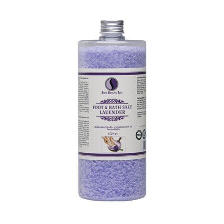 Avslappnande Fot & badsalt - Lavender