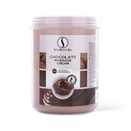 Massagekräm 1000ml - Choklad