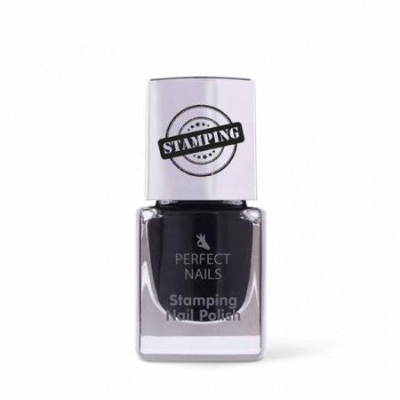 Stämpellack Svart - Perfect Nails
