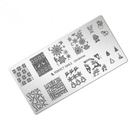 Stamping Plate Christmas - Perfect Nails