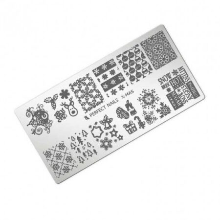 Stamping Plate X-mas - Perfect Nails