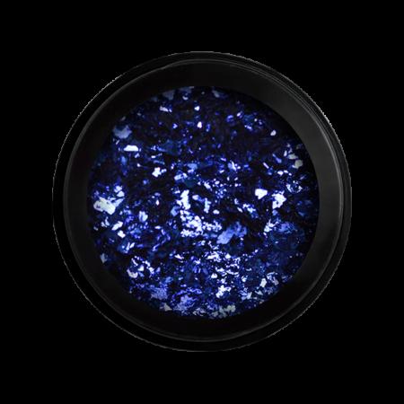 Chrome metal flakes - Blue - Perfect Nails