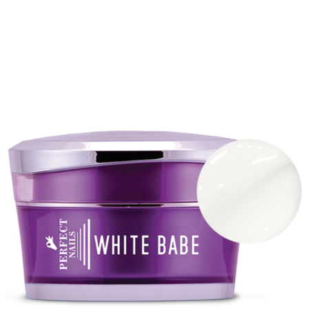 Gel white babe- Perfect nails