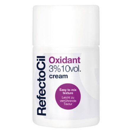 RefectoCil Oxidant Creme används tillsammans med Refectocils krämfärger för att färga ögonbryn och fransar