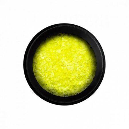 Neon Flakes - Yellow - Perfect Nails