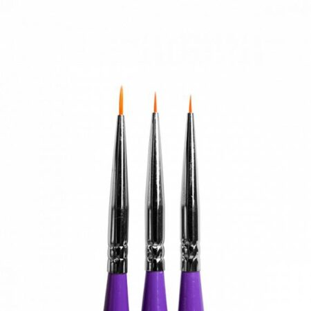 PNED050 Pensel 3-pack - Perfect Nails
