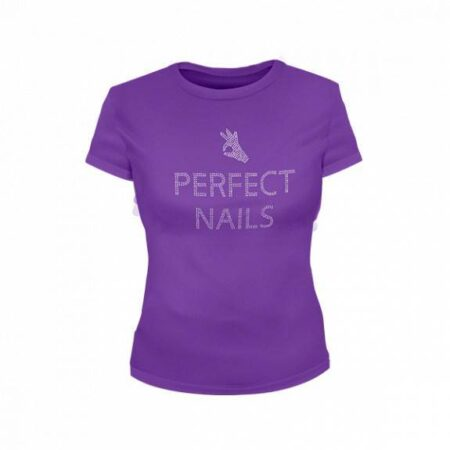 Perfect Nails t-shirt - lila