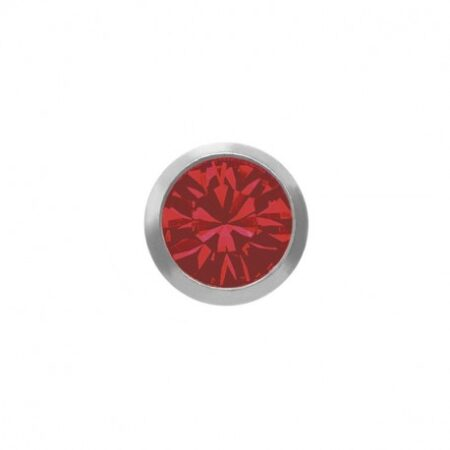 Örhänge - Juli rubin 3mm