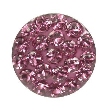 Örhänge - Oktober rosa 8mm