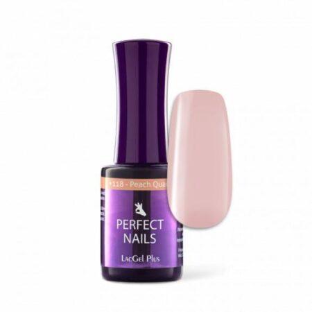 Gellack Plus #118 Peach quartz 8ml - Perfect Nails