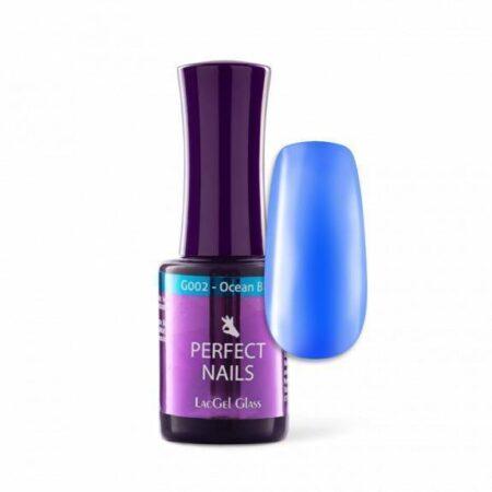 Gellack glass #G002 ocean blue - Perfect Nails