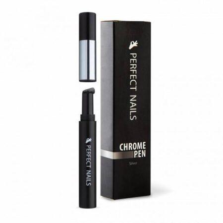 Chrome pen silver - Perfect Nails